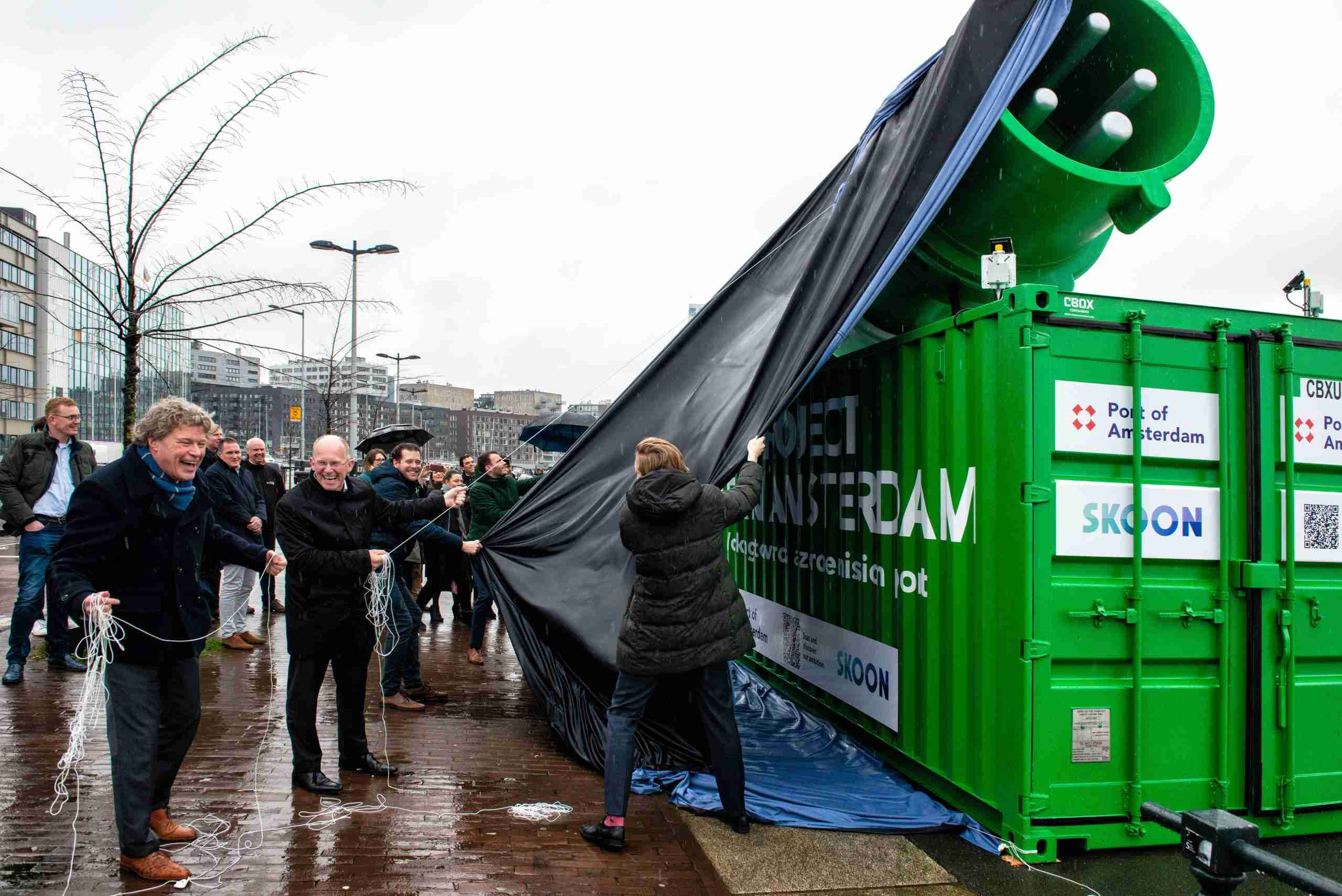 The Launch of Project Clean Amsterdam